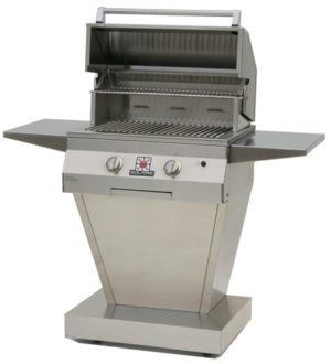 "27"" Solaire Pedestal grill"